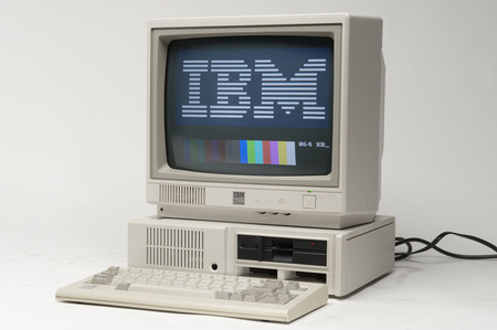 Az első IBM PC - személyi számítógép