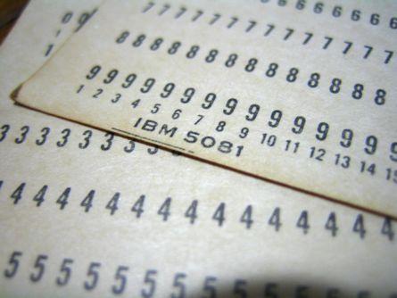 Lyukkártya mint adathordozó